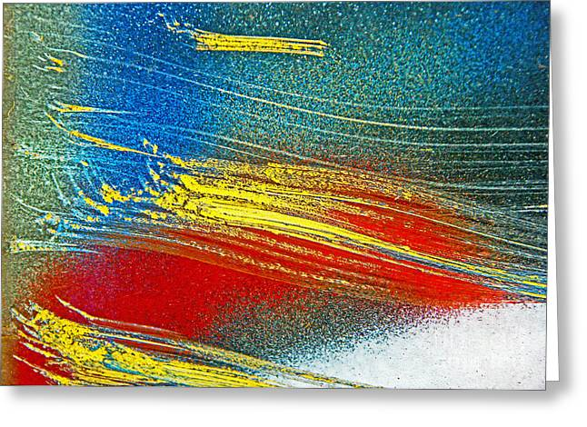 Color Wash Greeting Card by Joan McArthur