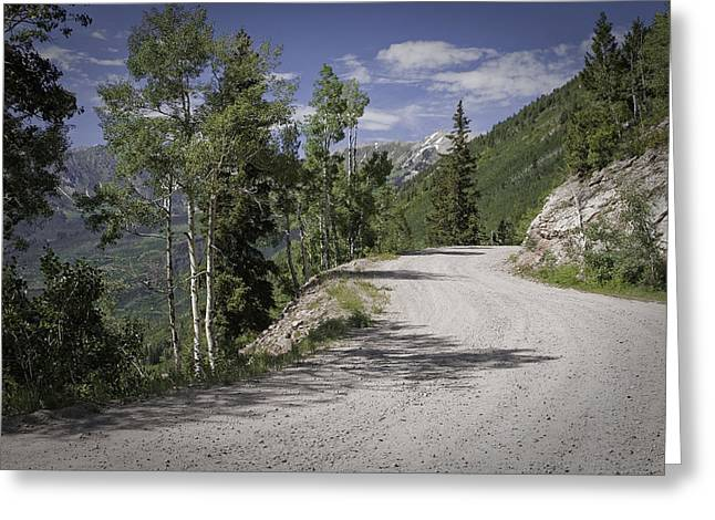 Colorado Backroads Greeting Card by Graham Hughes
