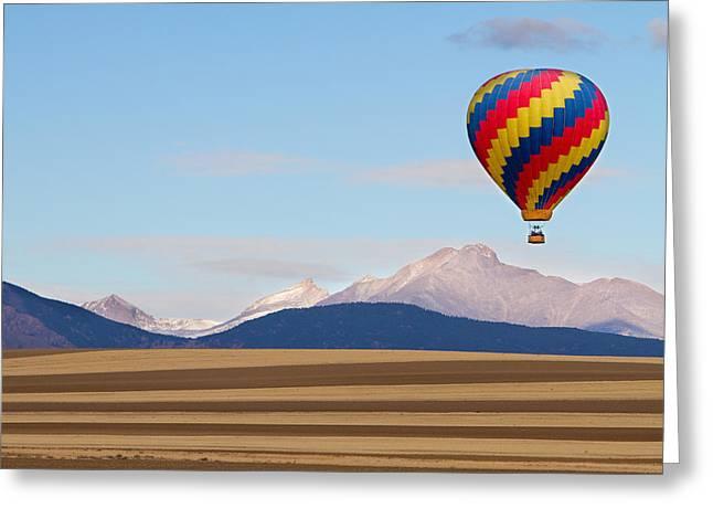 Colorado Ballooning Greeting Card by James BO  Insogna