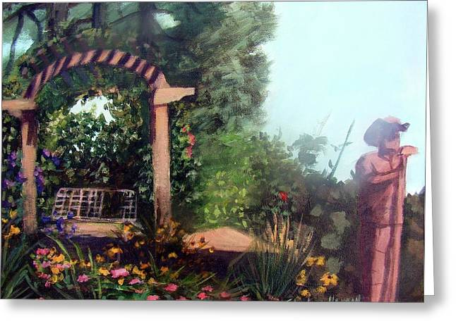 Colorado Flower Garden 2 Greeting Card by Stephen  Hanson