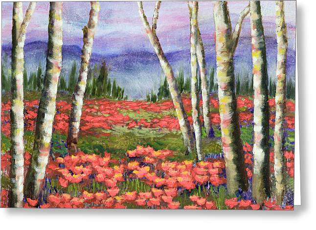 Colorado Meadow II Greeting Card