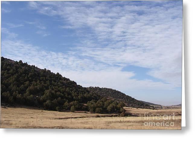 Colorado Outlands Greeting Card by Jack Norton