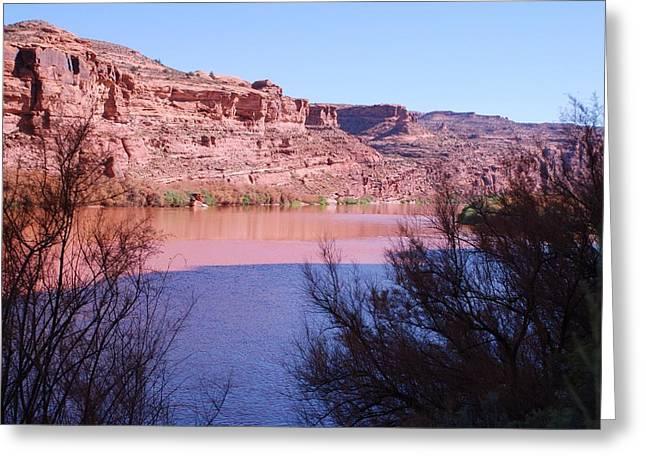 Colorado River After Rain - Utah Greeting Card