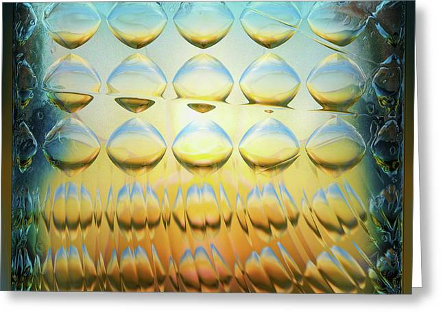 Colorbulbs Greeting Card by Li   van Saathoff