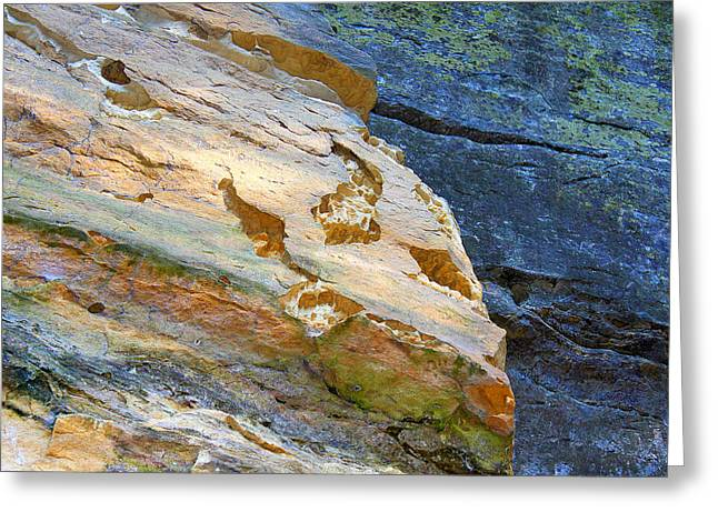 Greeting Card featuring the photograph Colorful Rocks by Milena Ilieva