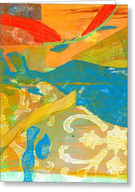 Colors Greeting Card by Alexandra Sheldon