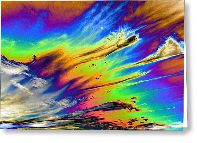 Colors Greeting Card by Kathleen Nash