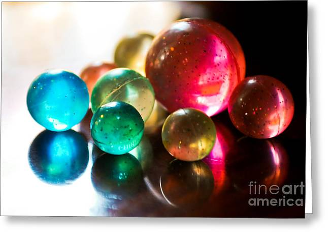 Colors Of Life Greeting Card by Syed Aqueel