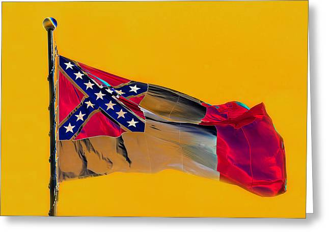 Colors Of The New South Greeting Card by David Lee Thompson