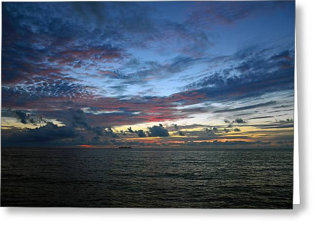 Colors Of The Predawn Greeting Card