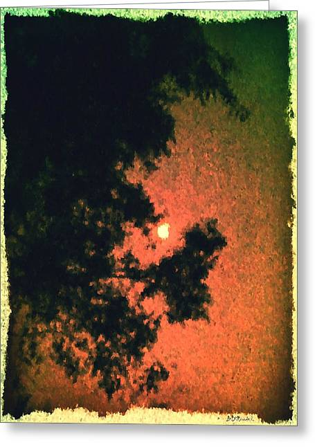 Come Evening Greeting Card by Brian D Meredith