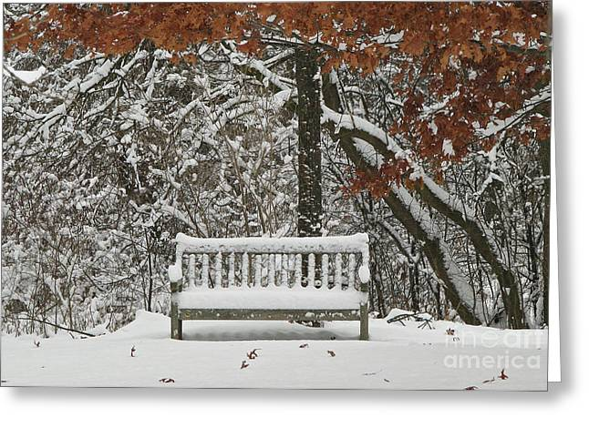 Come Sit Awhile Greeting Card