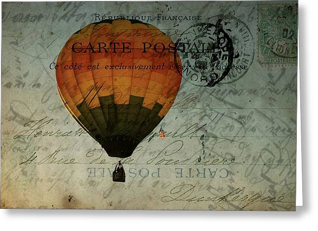 Come Travel The World With Me Greeting Card by Christine Annas