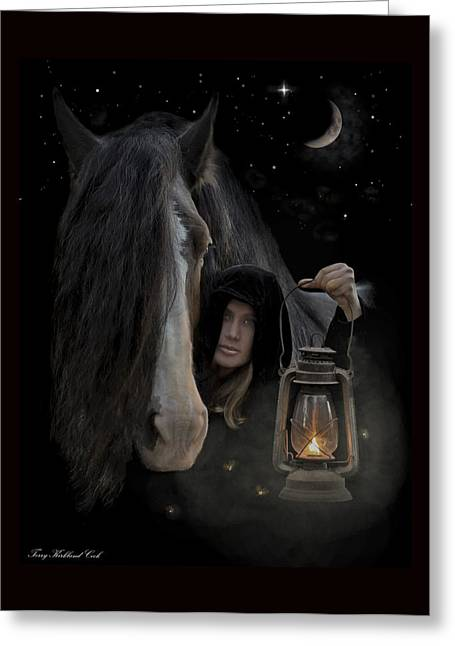 Companions Of The Night Greeting Card