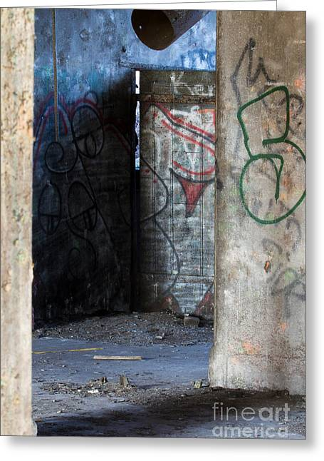 Concrete Central 10 Greeting Card by Chuck Alaimo