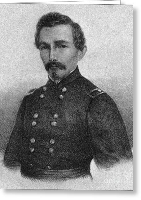 Confederate General Beauregard Greeting Card