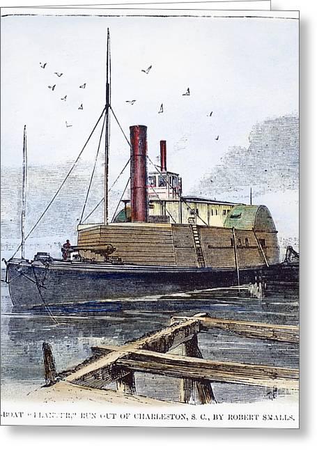 Confederate Ship, 1862 Greeting Card
