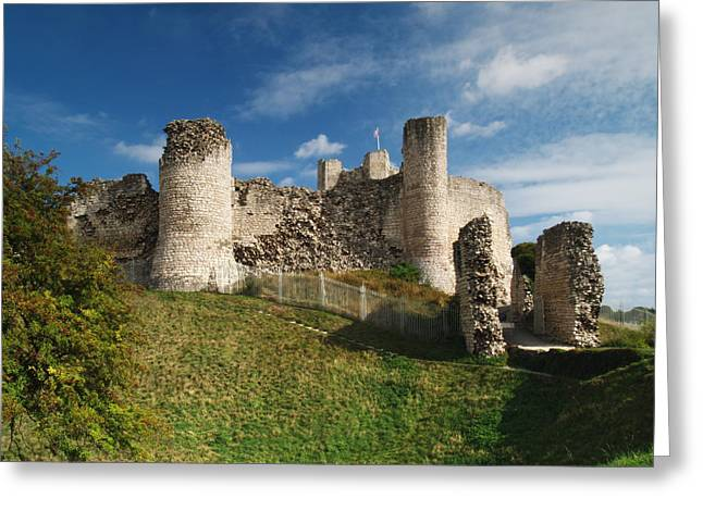 Conisborough Castle Greeting Card