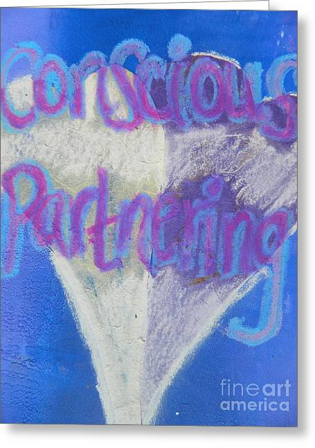Conscious Partnering Greeting Card