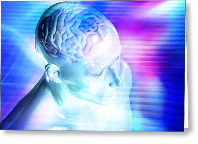 Consciousness Greeting Card