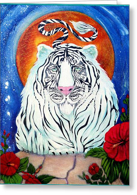 Constant Companion Greeting Card by Andrea Camp
