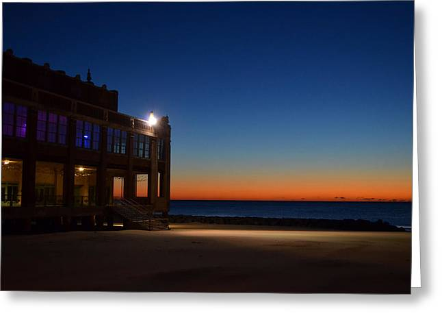 Convention Hall  Asbury Park Greeting Card