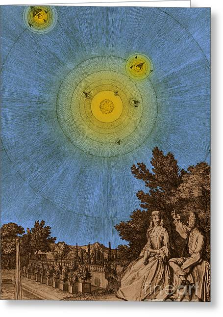 Conversations On The Plurality Greeting Card by Science Source