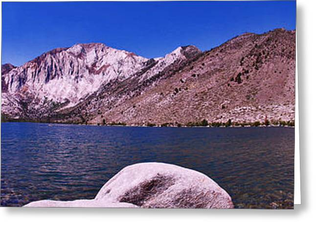 Greeting Card featuring the photograph Convict Lake by Gary Brandes