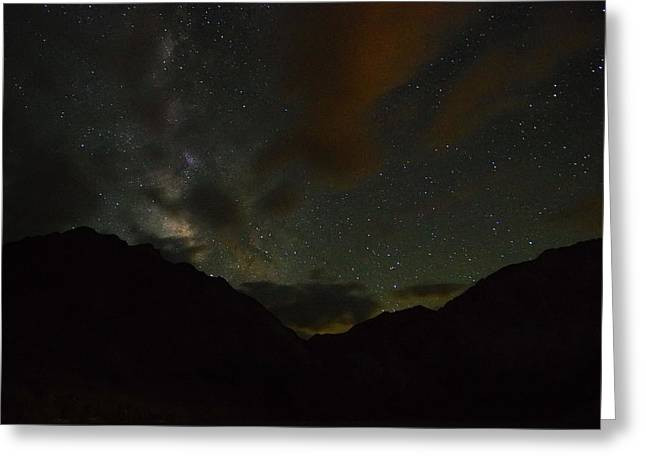 Convict Lake Milky Way Galaxy Greeting Card by Scott McGuire