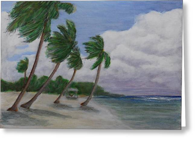 Cool Breeze On The Brac Greeting Card by Monte Lee Thornton