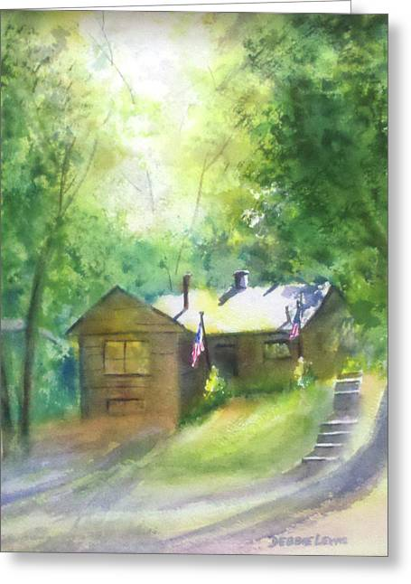 Cool Colorado Cabin Greeting Card