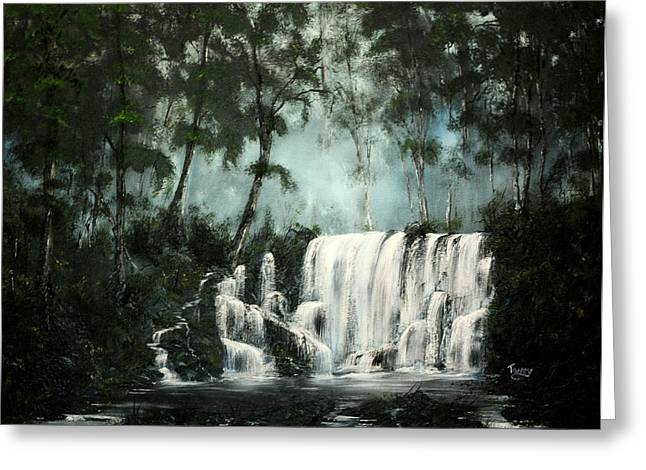 Cool Waters Greeting Card by Daniel Toney