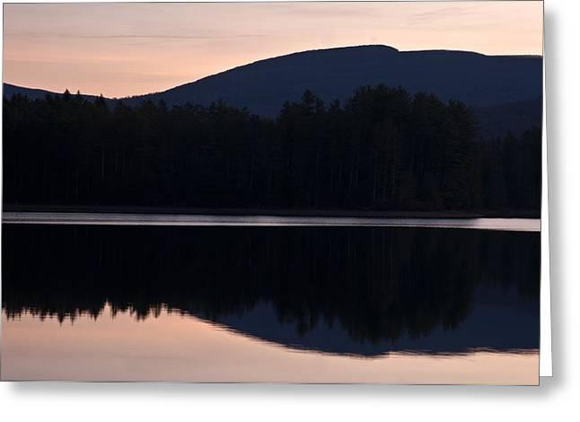 Greeting Card featuring the photograph Cooper Lake Dawn by Nancy De Flon