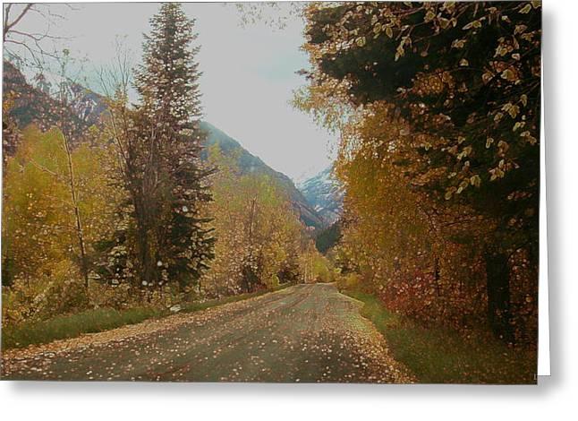 Copper Lane Greeting Card