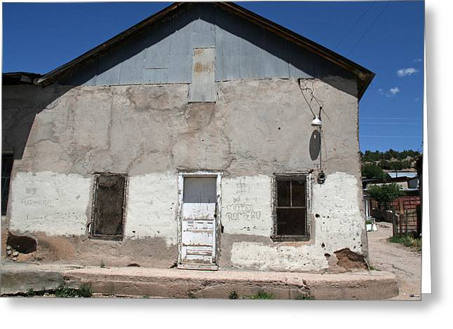 Cordova New Mexico Adobe Greeting Card
