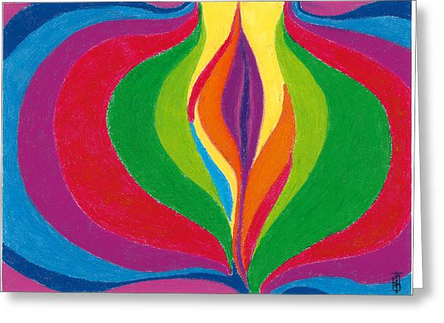 Core Greeting Card by Helen Savin Thornhill
