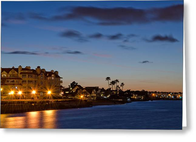 Coronado Sunset Greeting Card