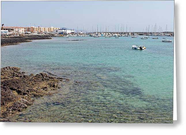 Corralejo Greeting Card