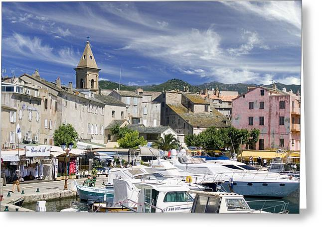 Greeting Card featuring the photograph Corsica by Rod Jones