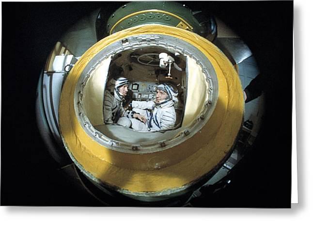 Cosmonaut Training Greeting Card by Ria Novosti