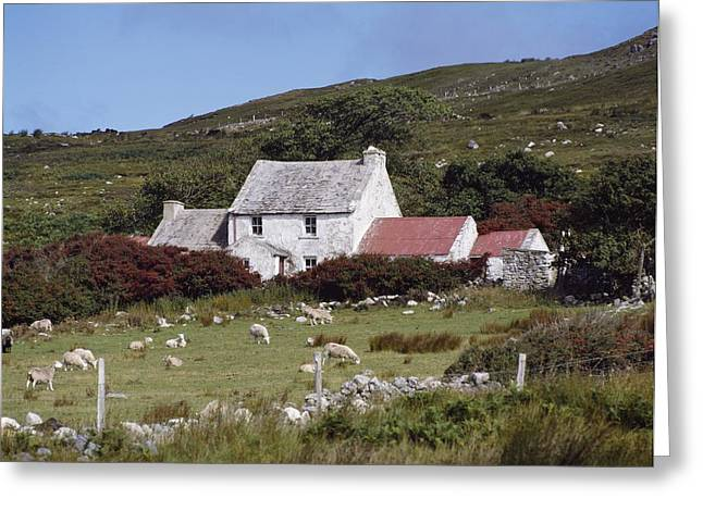 Cottage, Ireland Greeting Card by The Irish Image Collection