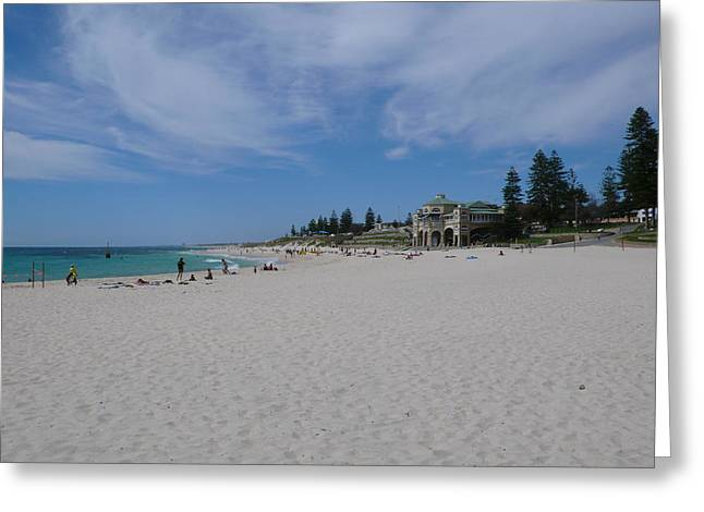 Cottesloe Beach Perth Greeting Card by Gregory Smith