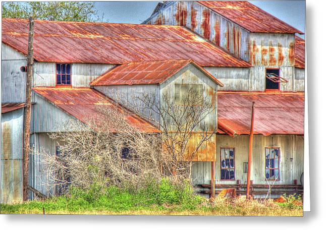 Cotton Barn 003 Greeting Card by Barry Jones