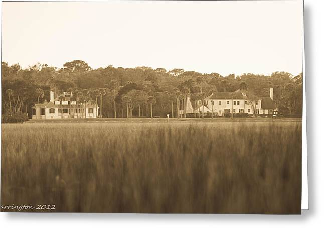 Greeting Card featuring the photograph Country Estate by Shannon Harrington