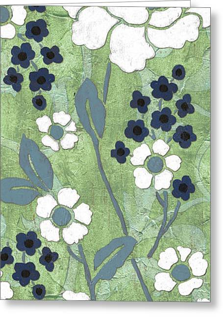 Country Spa Floral 1 Greeting Card by Debbie DeWitt