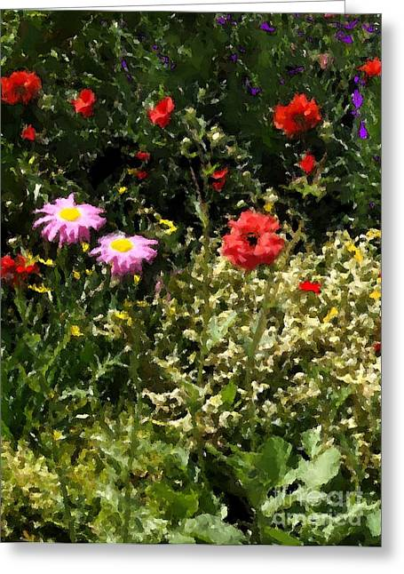 County Line Garden Greeting Card