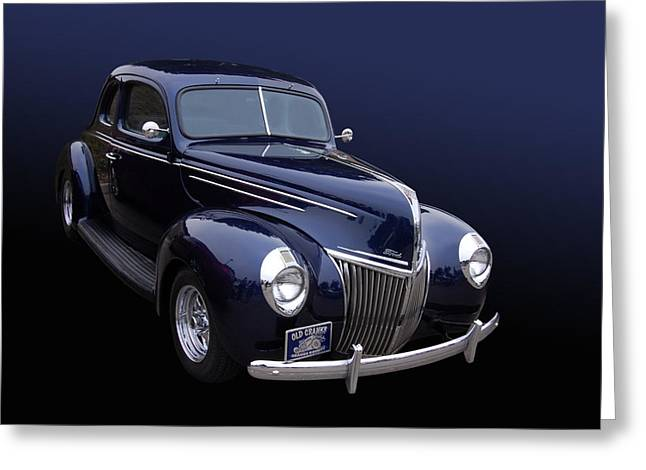 Coupe 39 Greeting Card by Bill Dutting