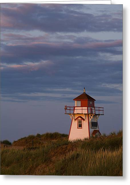 Covehead Lighthouse, Prince Edward Greeting Card