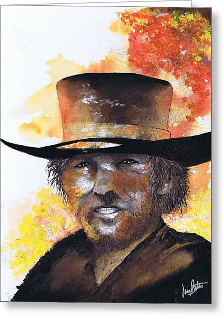 Cowboy Clint  Greeting Card