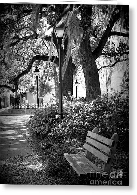 Cozy Corner In Savannah Greeting Card